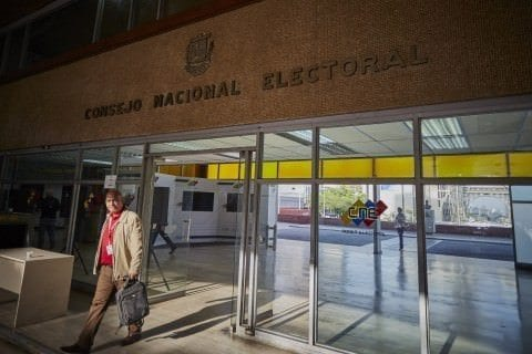 Consejo Nacional Electoral, CNE