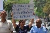 Protesta Salud / Foto Cheché Diaz