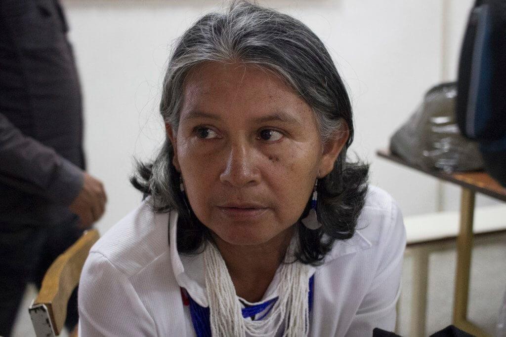 Claudia Álvarez dice que el Gobierno no cumple con el artículo 120 de la Constitución