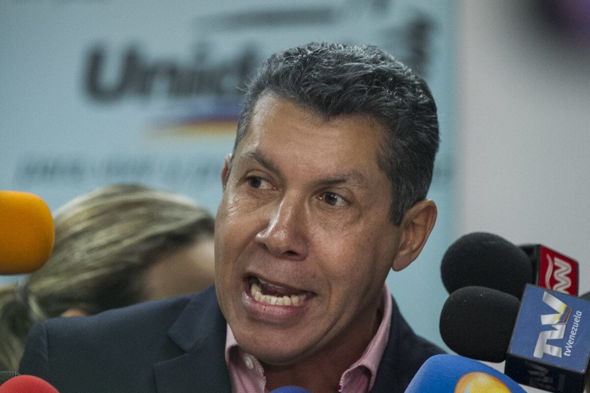 Henri Falcón: No reconozco este proceso electoral como válido