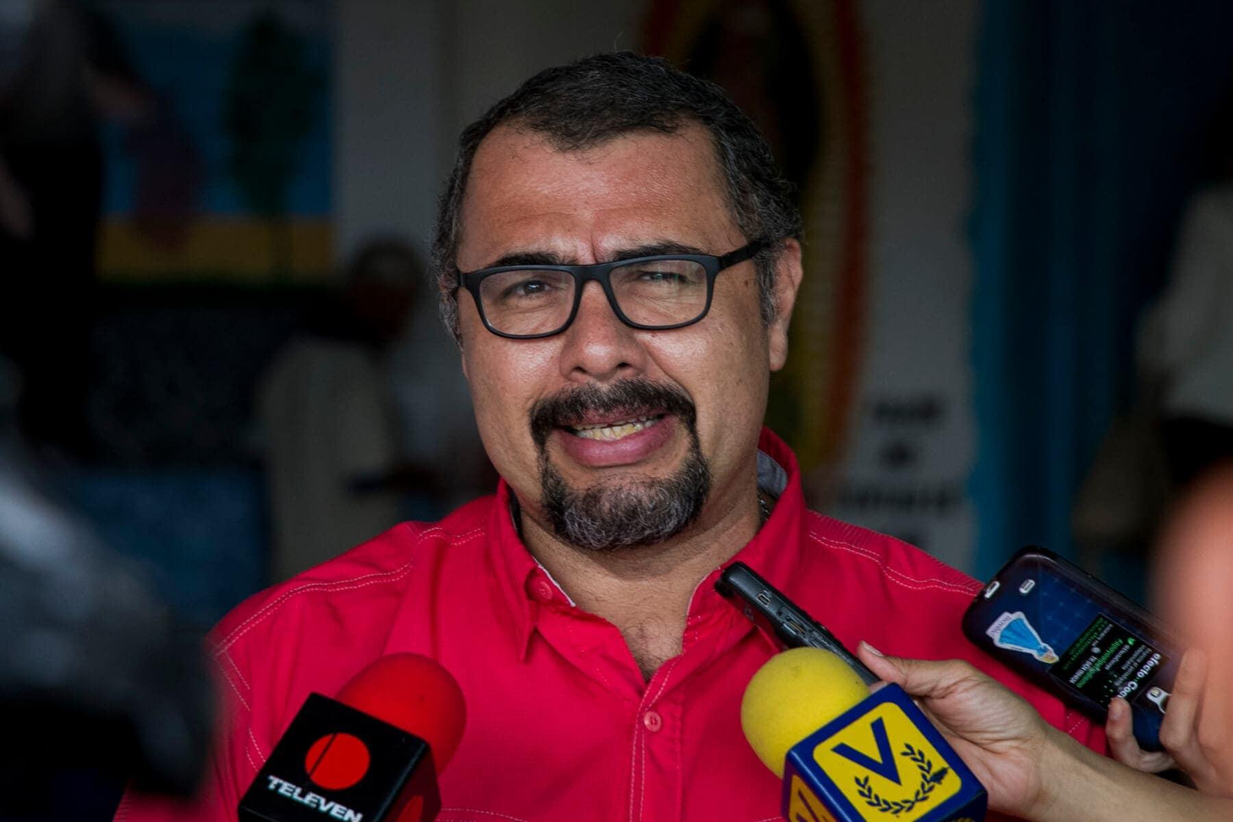 Luis Francisco Cabezas, director de Convite. Foto: Crónica Uno / Miguel González