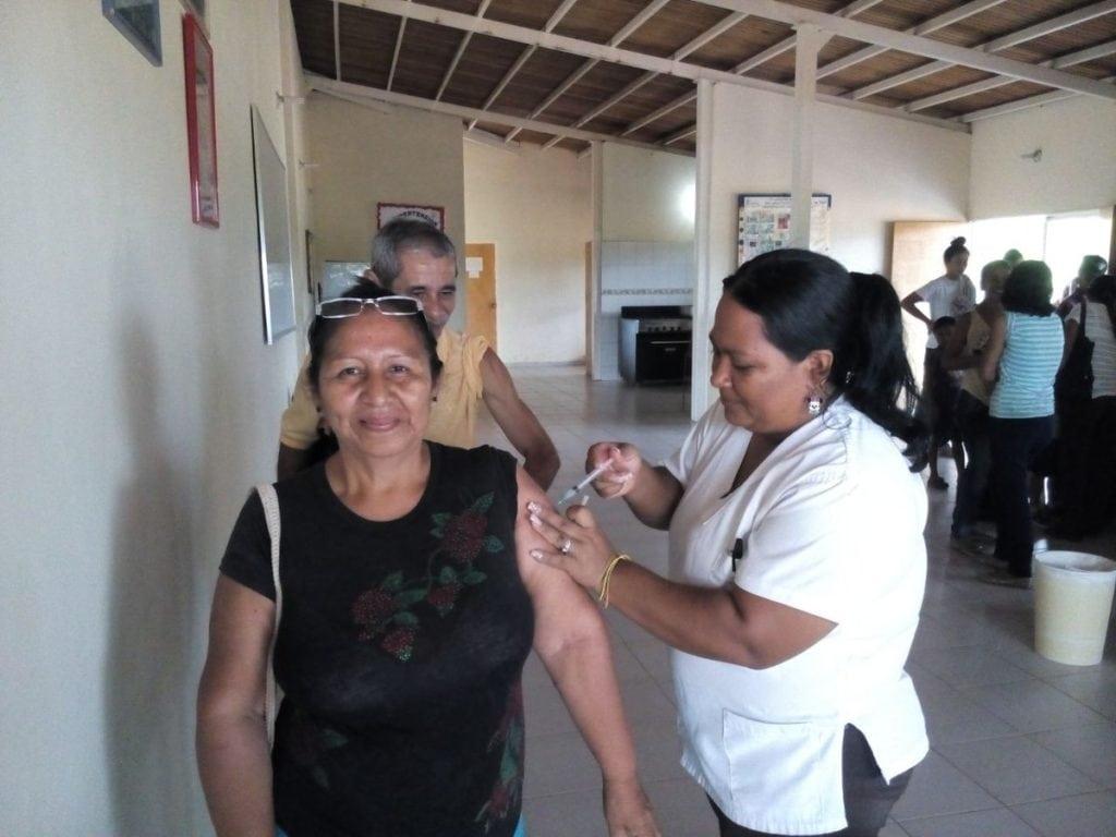 Difteria vacunación