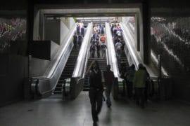 Estación del Metro de Plaza Venezuela estuvo sin prestar servicio más de una hora