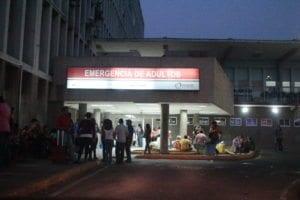 Maracaibo Venezuela 24/07/2013 Emregencia del hospital Universitario