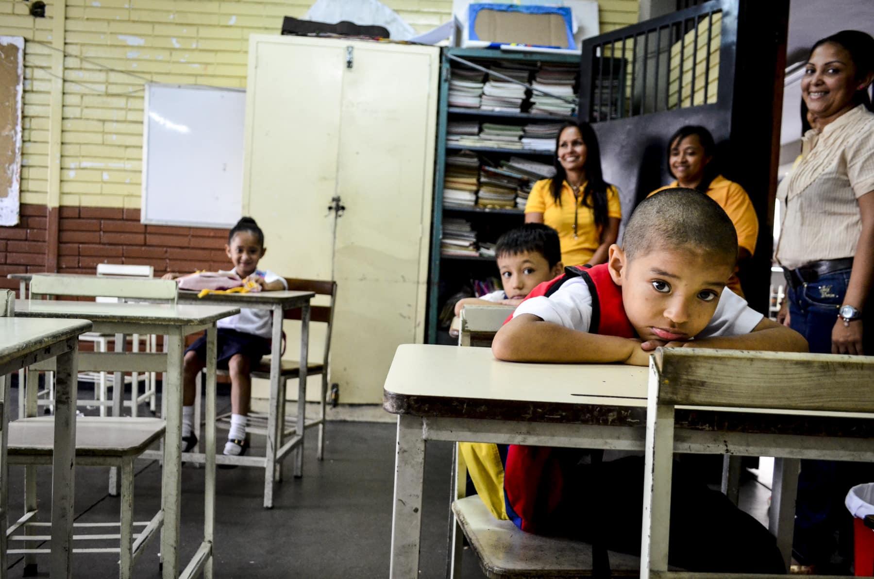 Unidad Básica Domingo Faustino Sarmiento<br /> Foto: Luis Miguel Cáceres / Crónica Uno