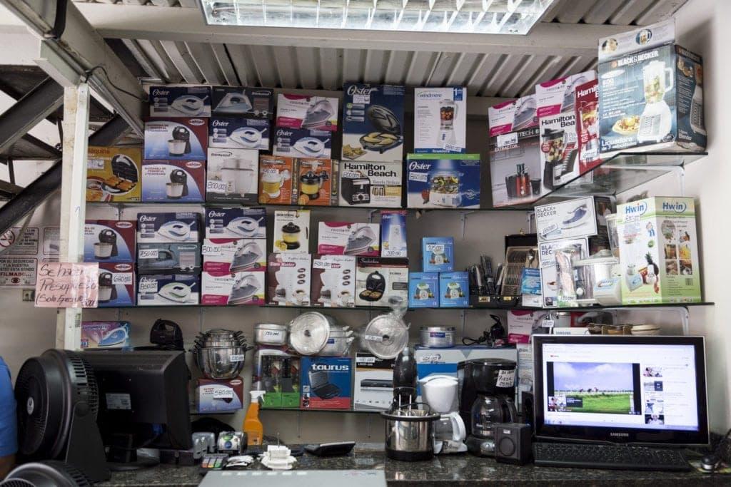 Recorrido electrodomésticos, San Martin