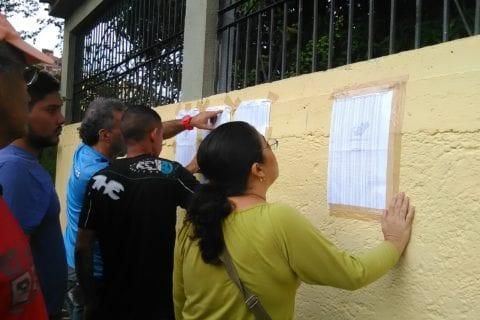centros de Carabobo. Elecciones regionales.