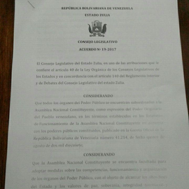 decreto vacante Guanipa