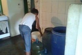 escasez de agua Carapita