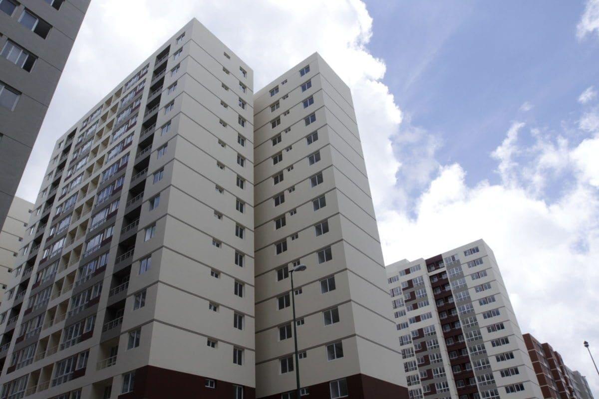 Ciudad Tiuna. Edificios.