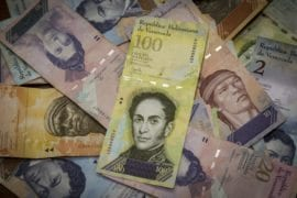 Billete cien mil bolivares