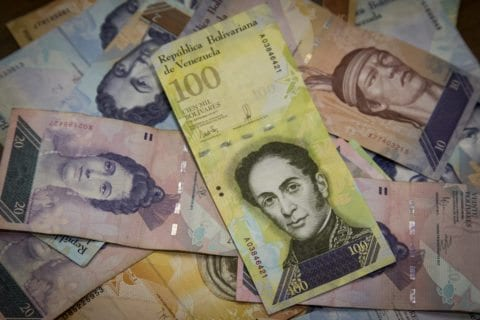 billete de cien mil bolivares