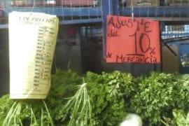 Ajuste de precios Sundde Quinta Crespo