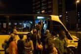 Colapso de transporte publico San Martin, Capitolio, Capuchino