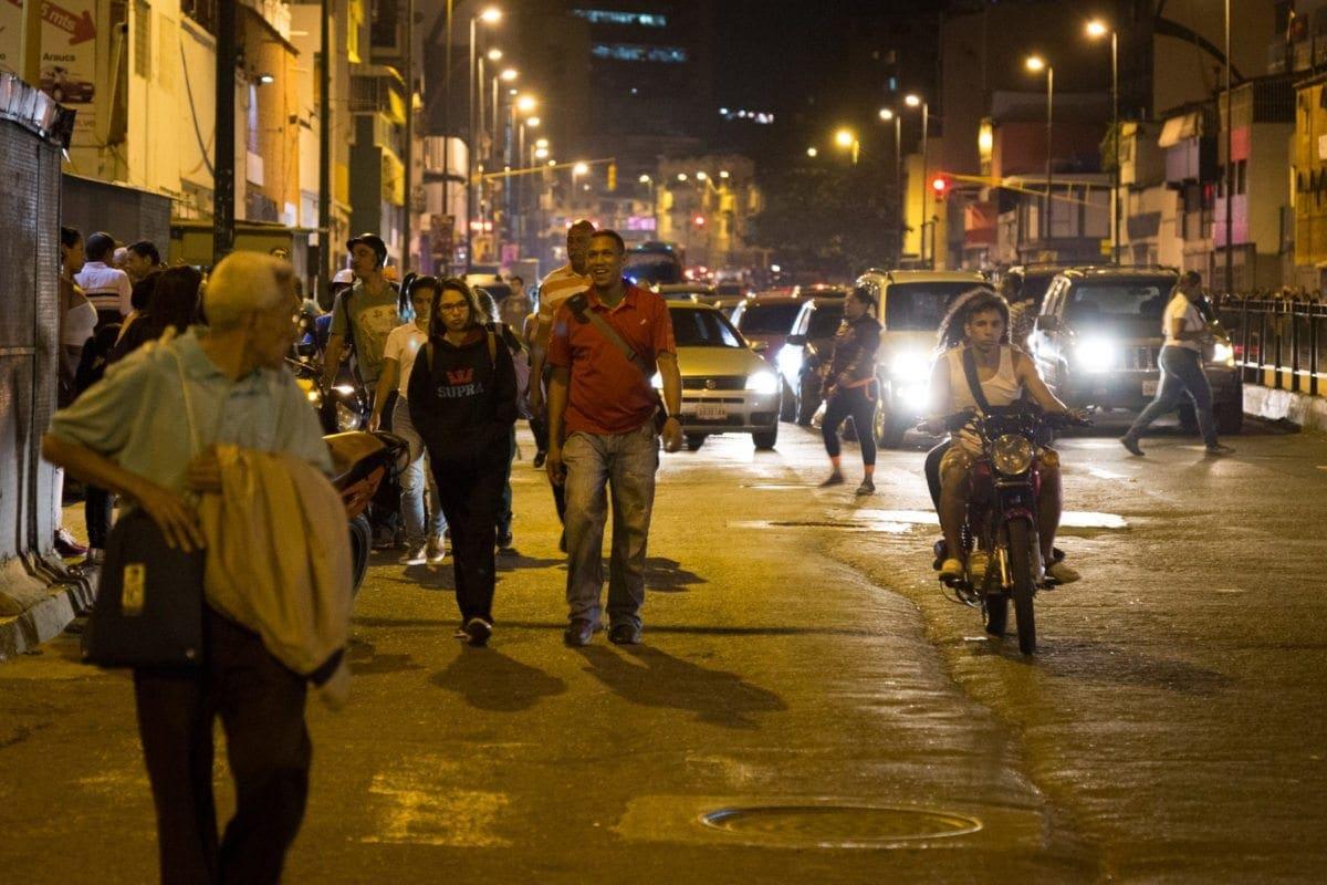 Colapso de transporte publico San Martin, Capitolio, Capuchino municipio los guayos
