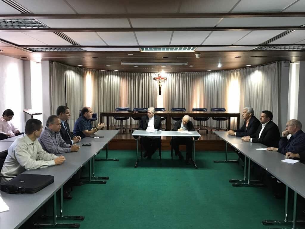 CEV recibió a representantes de la AN y de la Unidad para informarse sobre el proceso de diálogo