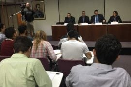 Diputados escucharon planteamientos de los estudiantes de cara a la negociación de Dominicana