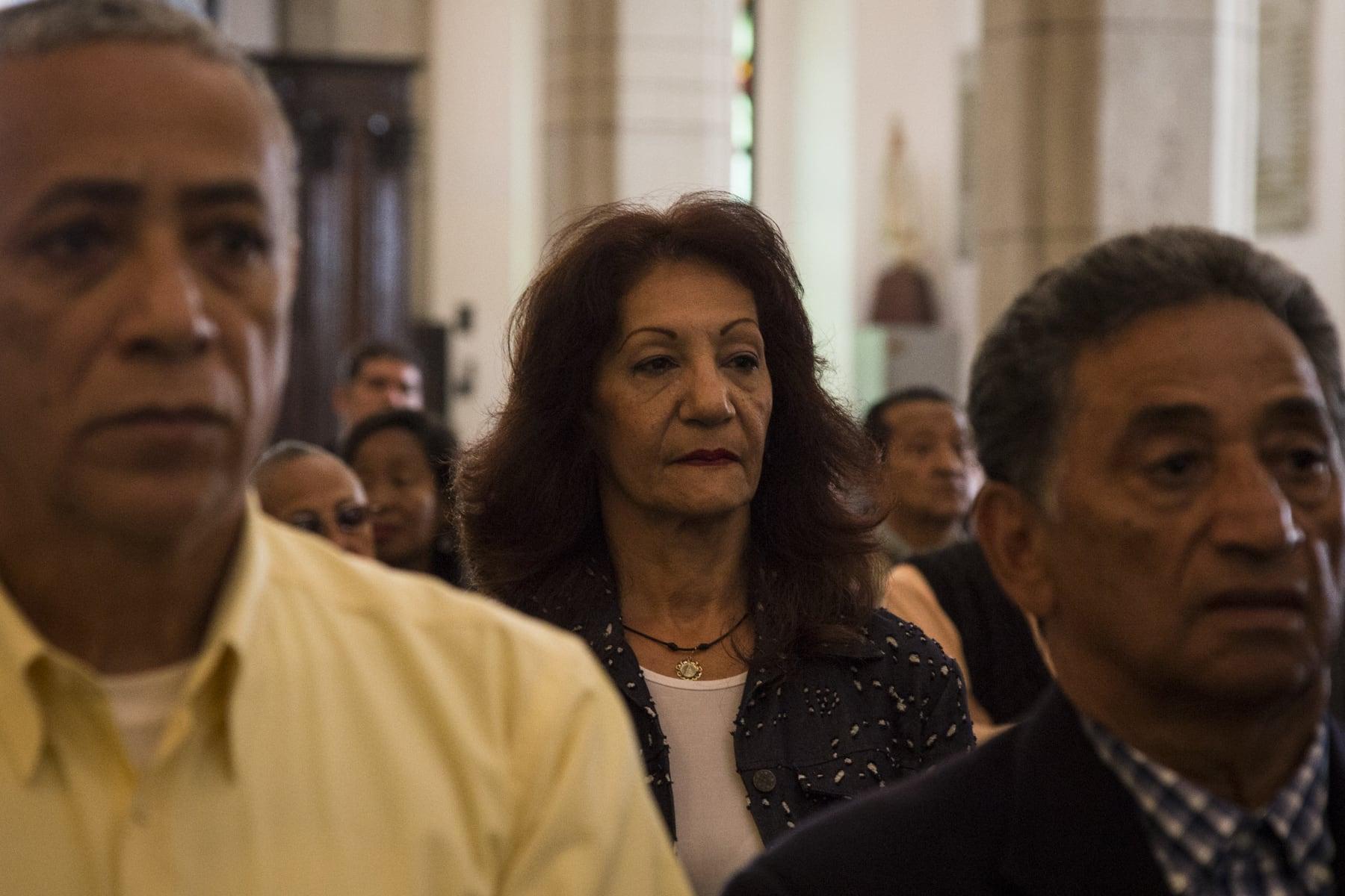Misa día de los maestros, catedral de Caracas