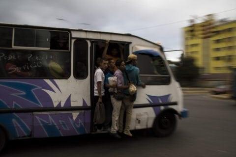 Redoma de La India, transporte publico.