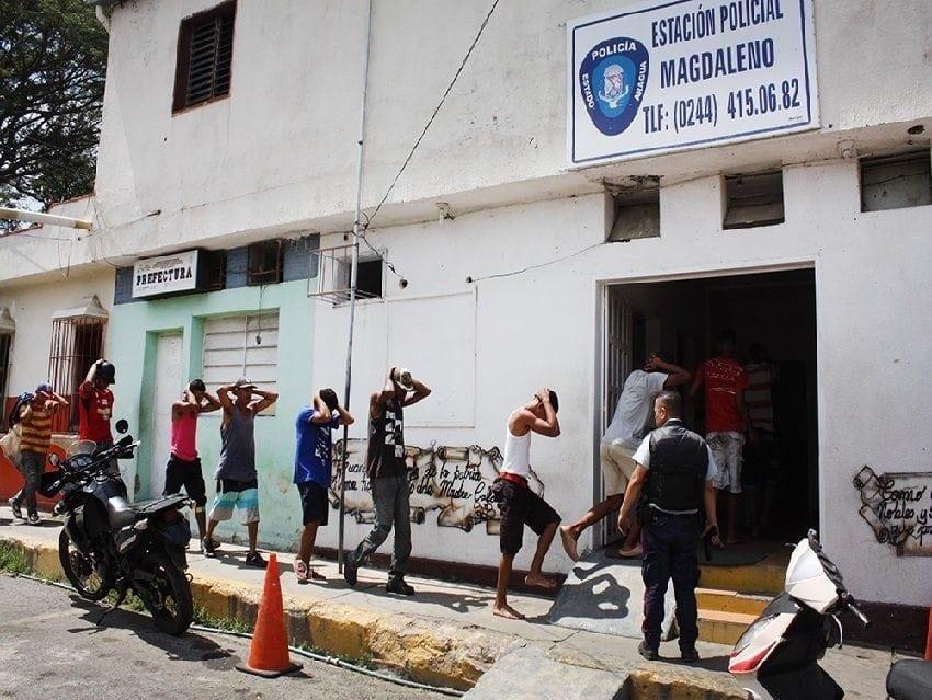 Atacaron comisaría de la Policia de Aragua en Magdaleno