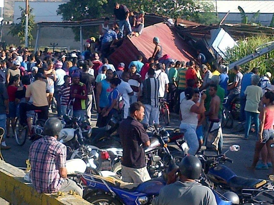Seis saqueos en Aragua en menos de un mes