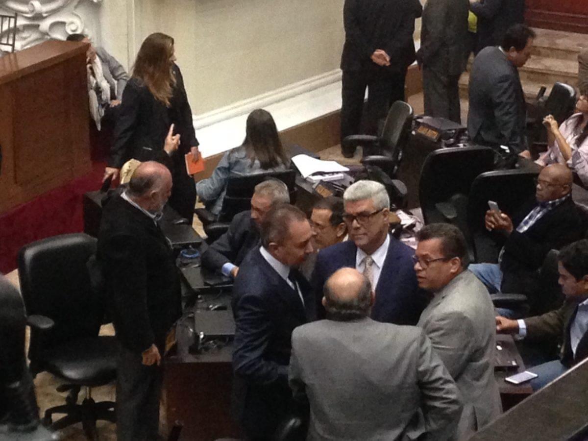 vacío de poder 1 asamblea nacional | alfonso marqina | diputados