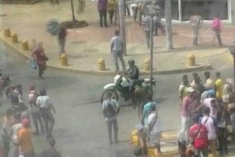 En Cumaná las protestas por los Clap terminaron en disturbios
