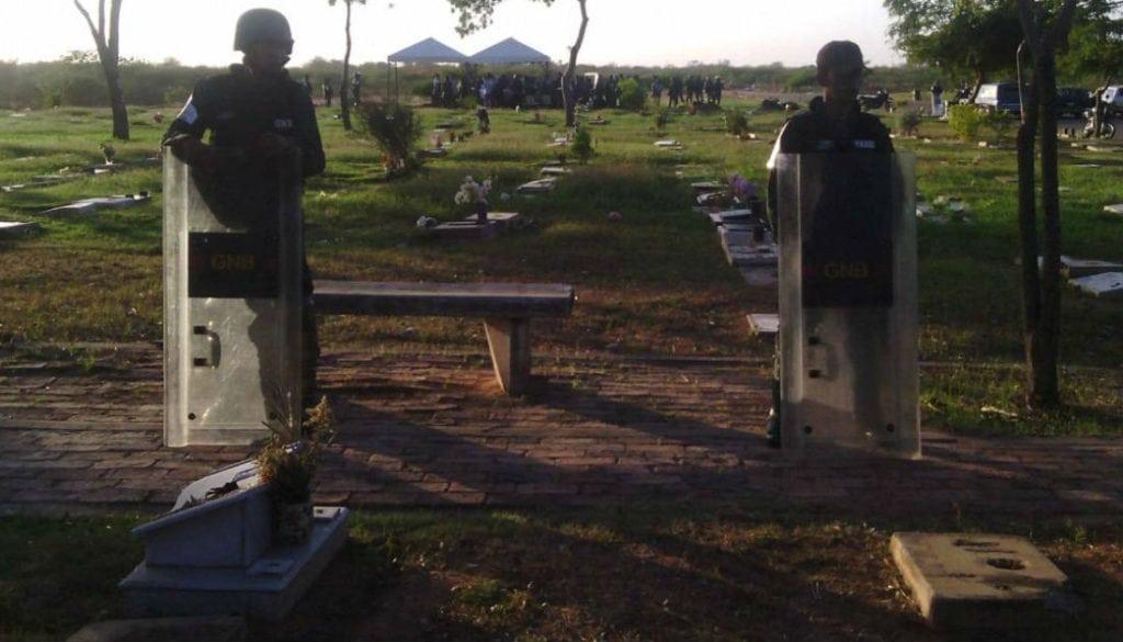 Hermanos Lugo y Daniel Soto fueron enterrados en Maracaibo en fosa común
