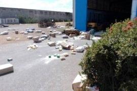 Saquearon comercios y centro de acopio en Calabozo