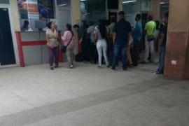 Viajar en bus desde Guayana es un suplicio por escasez de efectivo.