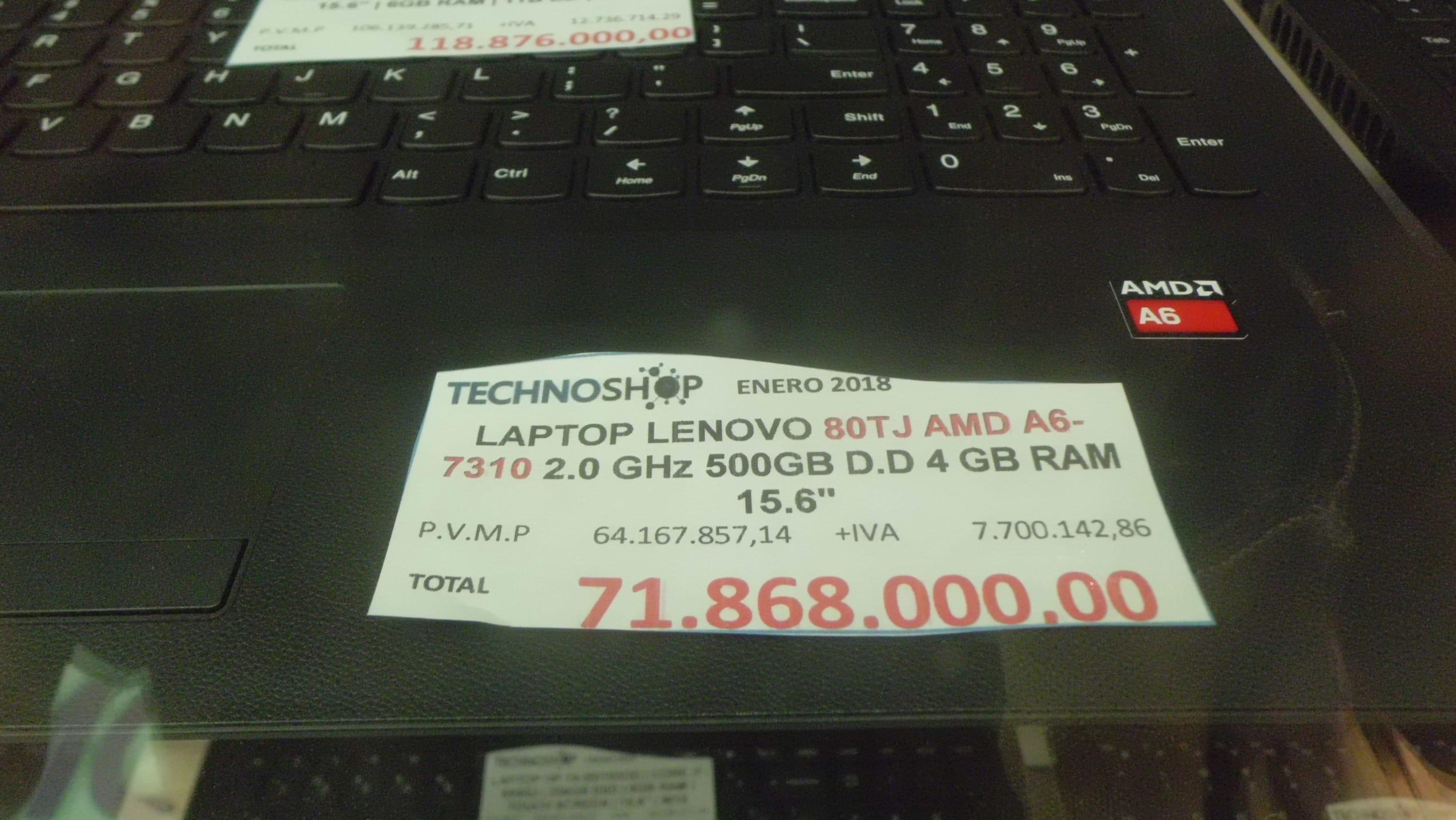 Computadoras precios. Foto Reymar Reyes