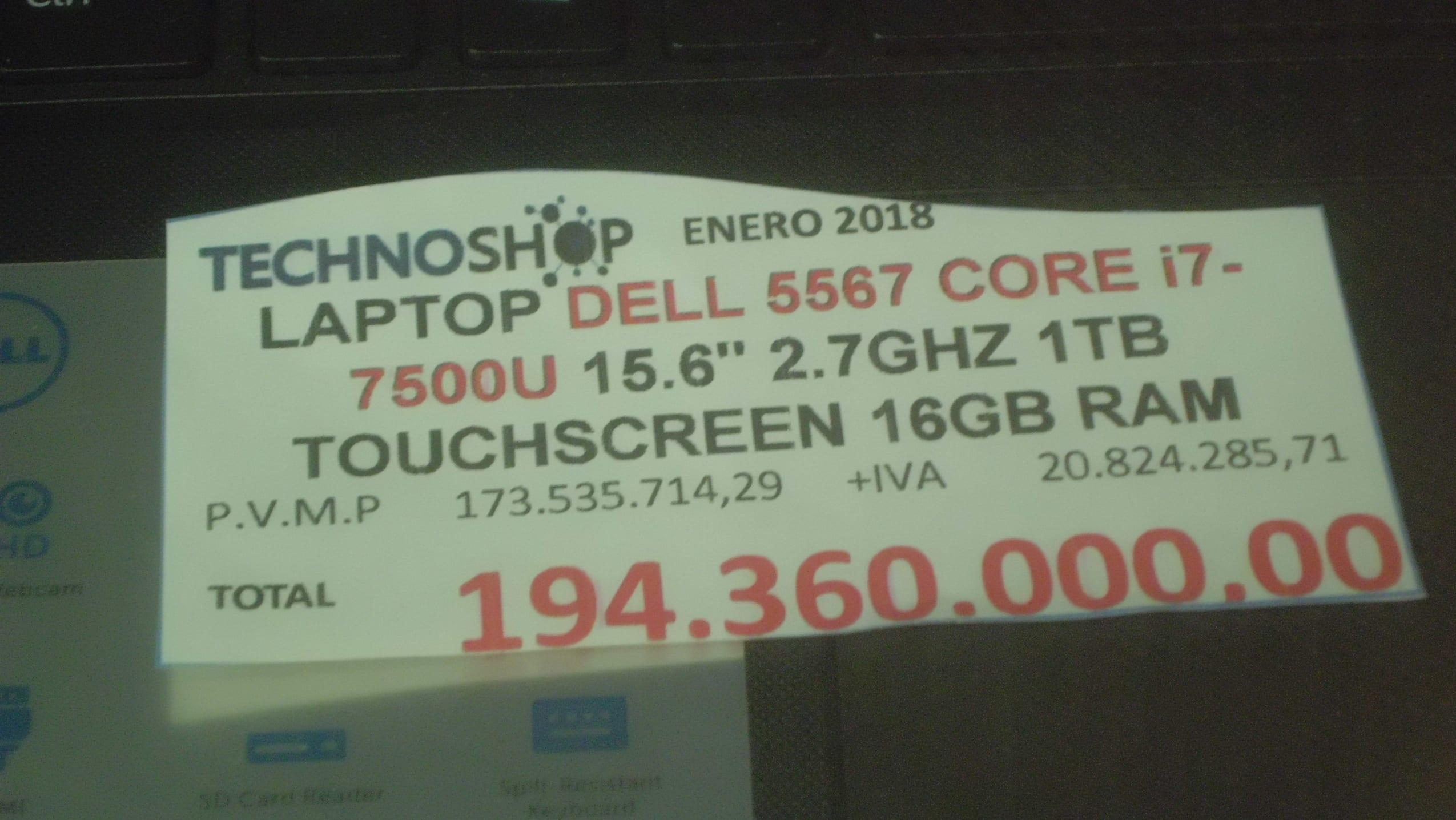 Computadores precios. Foto Reymar Reyes