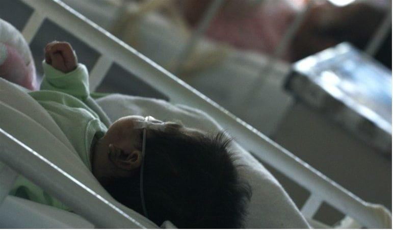 bebes hospitalizados