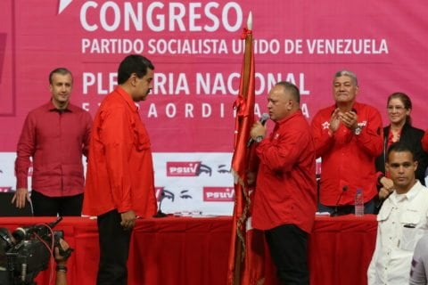 "Maduro designó a Cabello al frente del plan de ""defensa antigolpista y antiterrorista"""