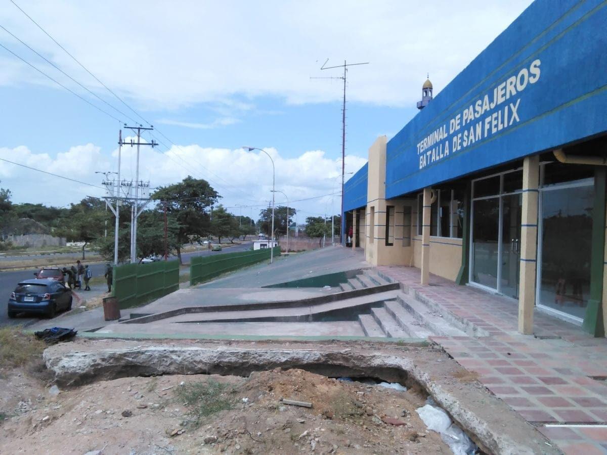 Gobiernos pesuvistas se han demorado cuatro años en remodelar el terminal de San Félix