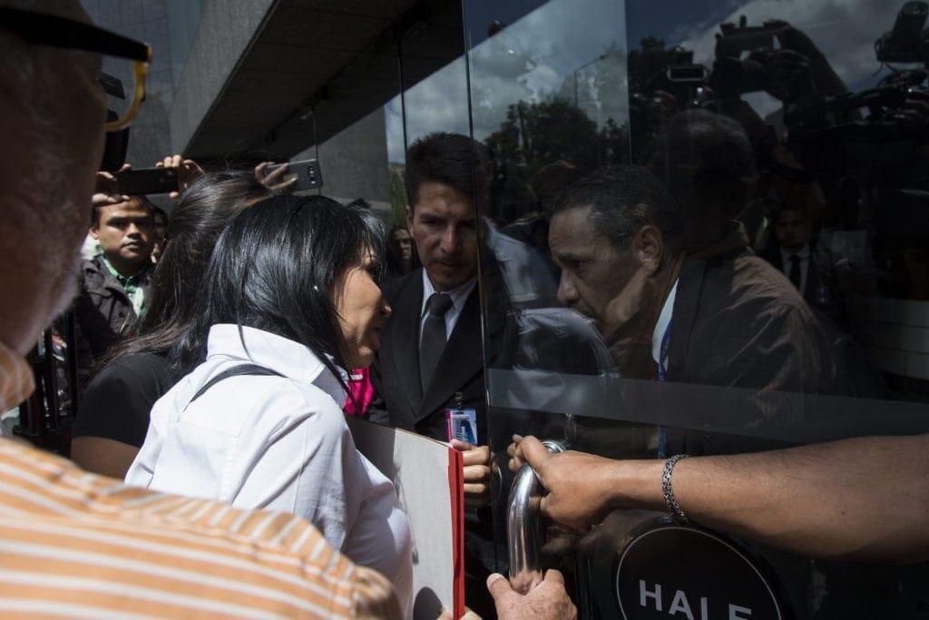 Frante amplio en la ONU, Delsa Solórzano