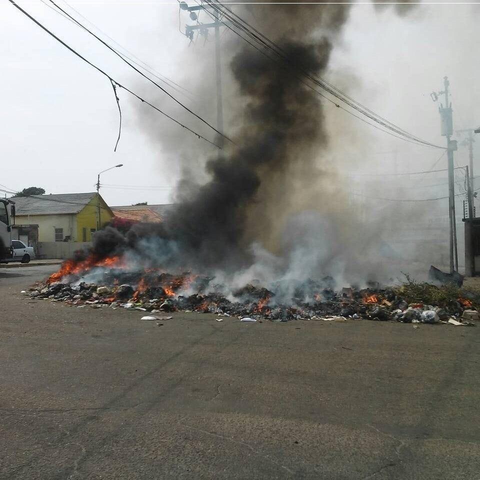 Quema de basura se agrava en Maracaibo