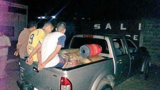 Detenidas 6 personas por hurto de cilindros en sede de Gas Comunal en Táchira