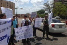 Hidrobolívar continúa condenando a Puerto Ordaz a la sequía