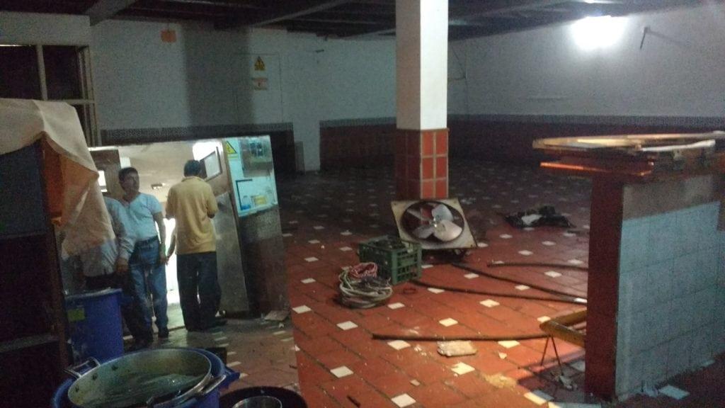 La Atarraya uno de los restaurantes más famosos del centro cerró forzosamente 60 años de historia. Mabel Sarmiento Garmendia