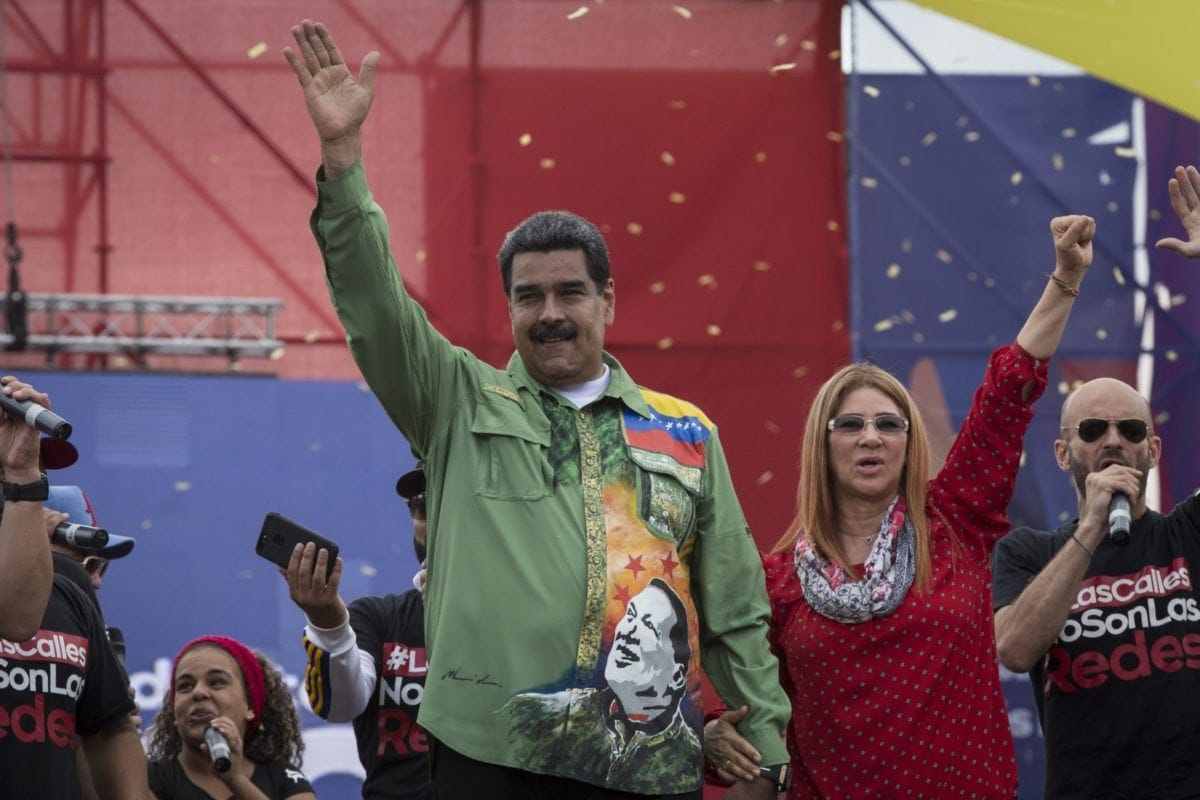 20180517 Cierre de Campaña Nicolas Maduro. Foto: Francisco Bruzco