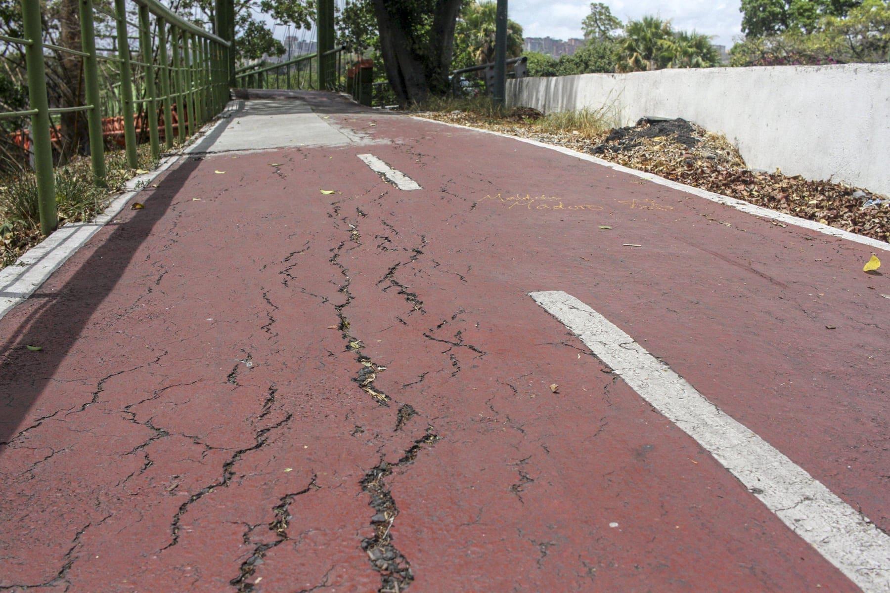 recorrido ciclovías Luis Morillo