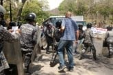 PNB impidió la movilización de profesores de la UCV hacia el centro de Caracas