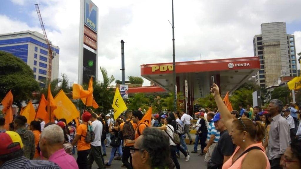 Foto cortesía @unidadvenezuela