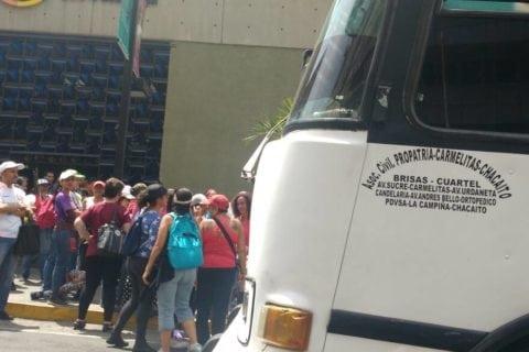 concentración de cierre de campaña de Maduro