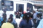 transporte público en guayana
