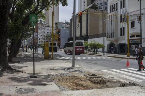 Activistas desconocen qué sucederá con las ciclovías tras el desmantelamiento de las aceras