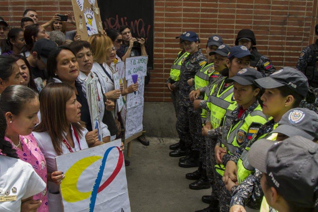 protesta sector salud