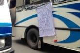transportistas | usuarios | protestas | autobuses
