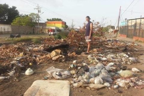 parroquia venancio pulgar | basura